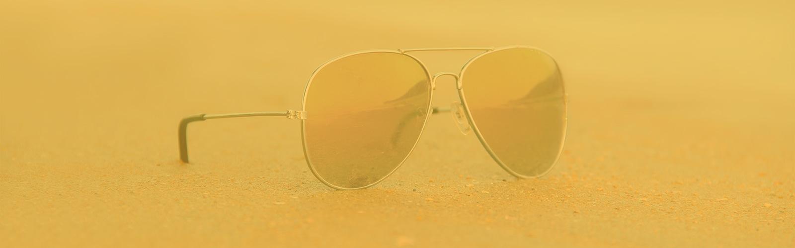 El engaño de las gafas de sol