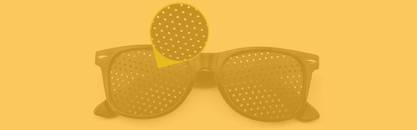 ¿Cómo elegir las gafas estenopeicas?
